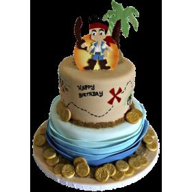 Детский торт пират