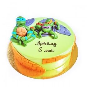 Детский торт ниндзя