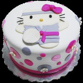 Детский торт для девочки Xелло Китти