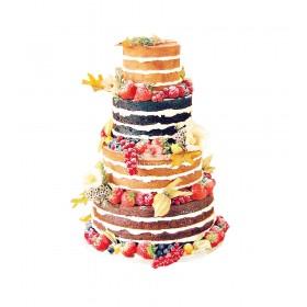 Торт свадебный 84