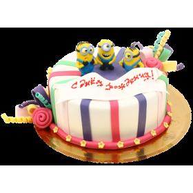 Детский торт Миньоны