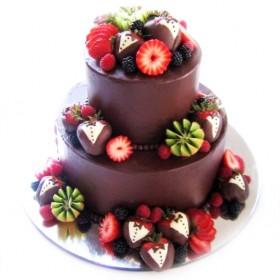 Торт свадебный 03