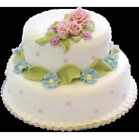 Торт Свадебный  модель 029