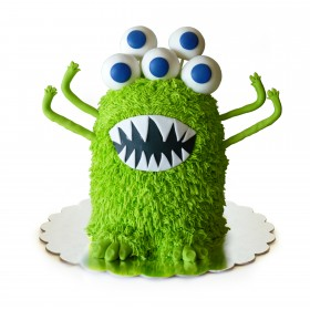 Детский торт монстр