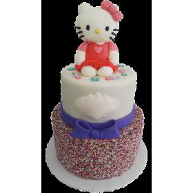 Детский торт на заказ Хелло Китти