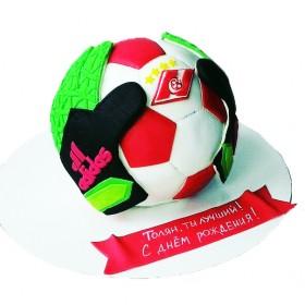 Торты на заказ в форме мяча