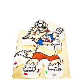 Торты на заказ в форме символа чемпионата мира по футболу