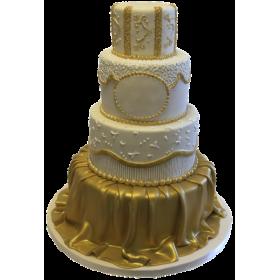 Торт Свадебный  модель 044