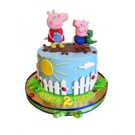 Торты на заказ Свинка Пеппа