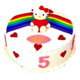 Детский торт хэлло китти 1