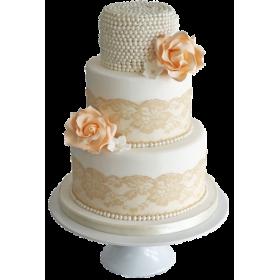 Торт Свадебный  модель 038