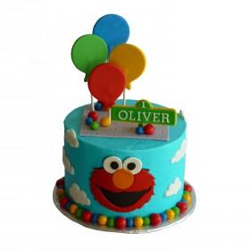 Детский торт Улица Сезам