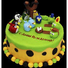 Детский торт Енгрибердс