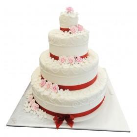 Торт свадебный 08