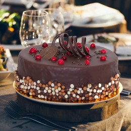 Торт Клюква в шоколаде