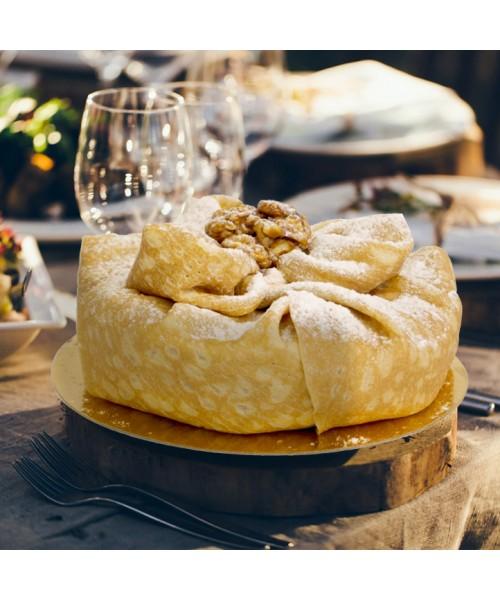 Торт Блинный крем-брюле