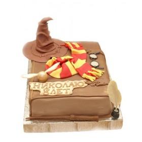Детский торт для мальчика со шляпой