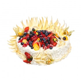 Торты на зака Юбилейные со свежими ягодами