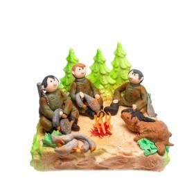 Торт на заказ для настоящих охотников